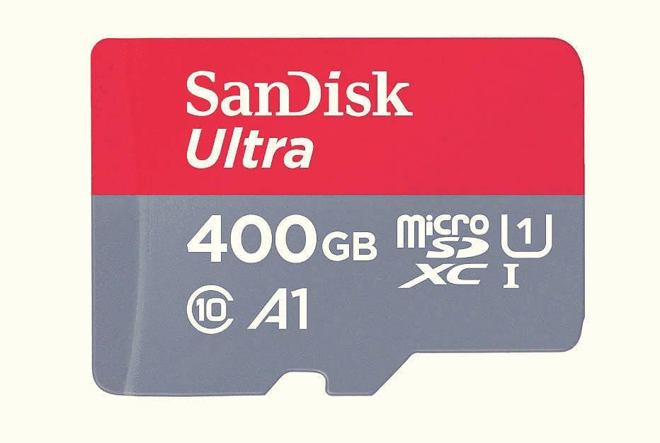 Sandisk ultra400gbmicrosd