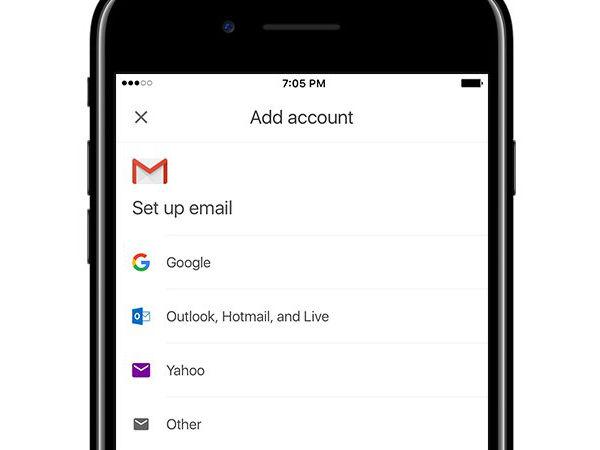 Gmail addaccount