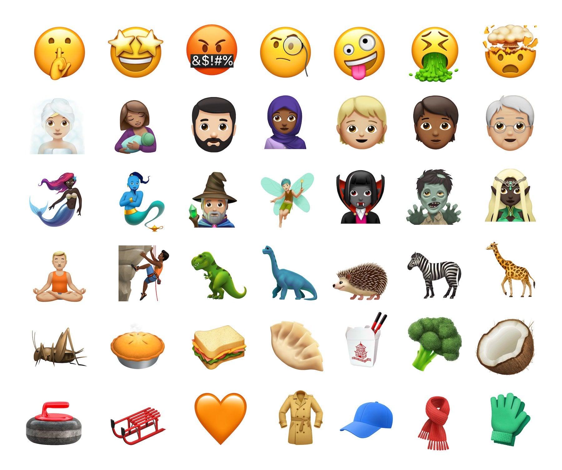 IOS11 1 emoji all
