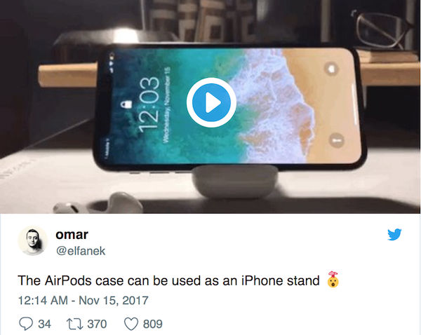 AirPods iPhoneStand