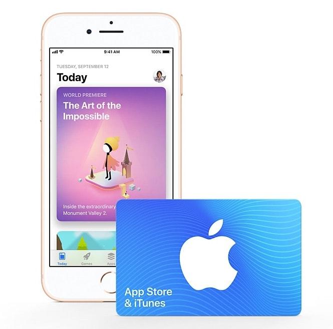 AppStore iTunesGiftCard 01