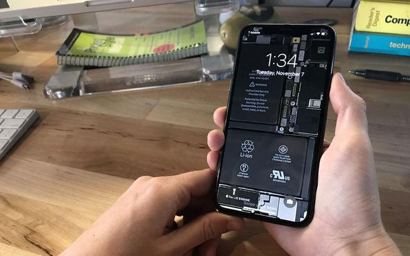 IPhoneX toumeikabegami
