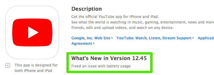 Youtube 1245update