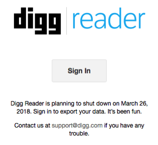 Diggreader