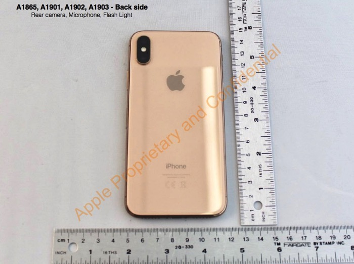 IPhoneX Gold 01
