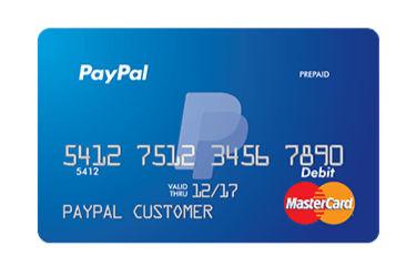 Paypal debitcard