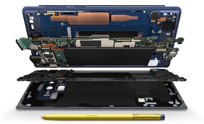 GalaxyNote9 iPhonex bench 02