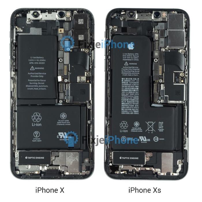 IPhoneXS battery 01
