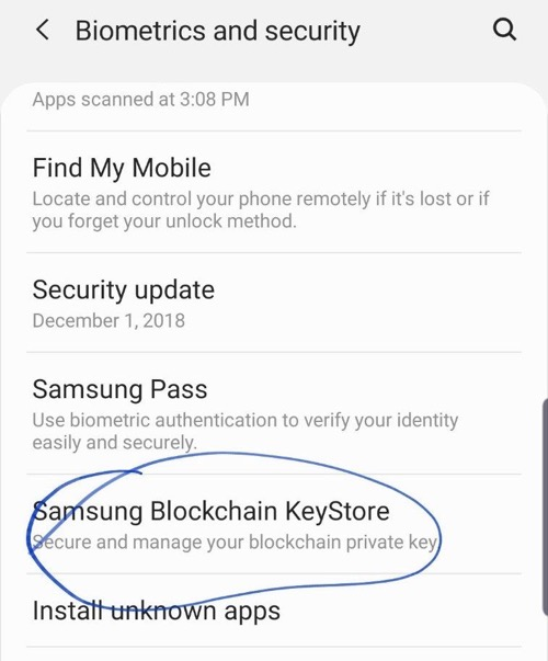 GalaxyS10 BlockchainKeyStore 01
