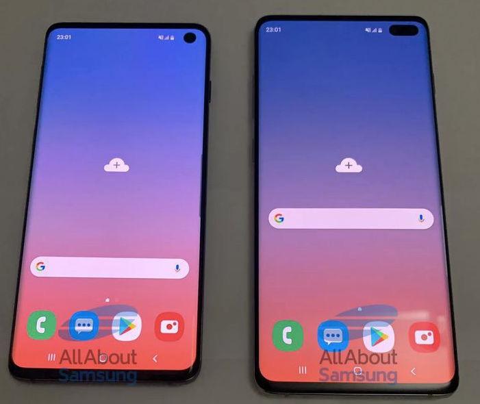 Samsung s10 design