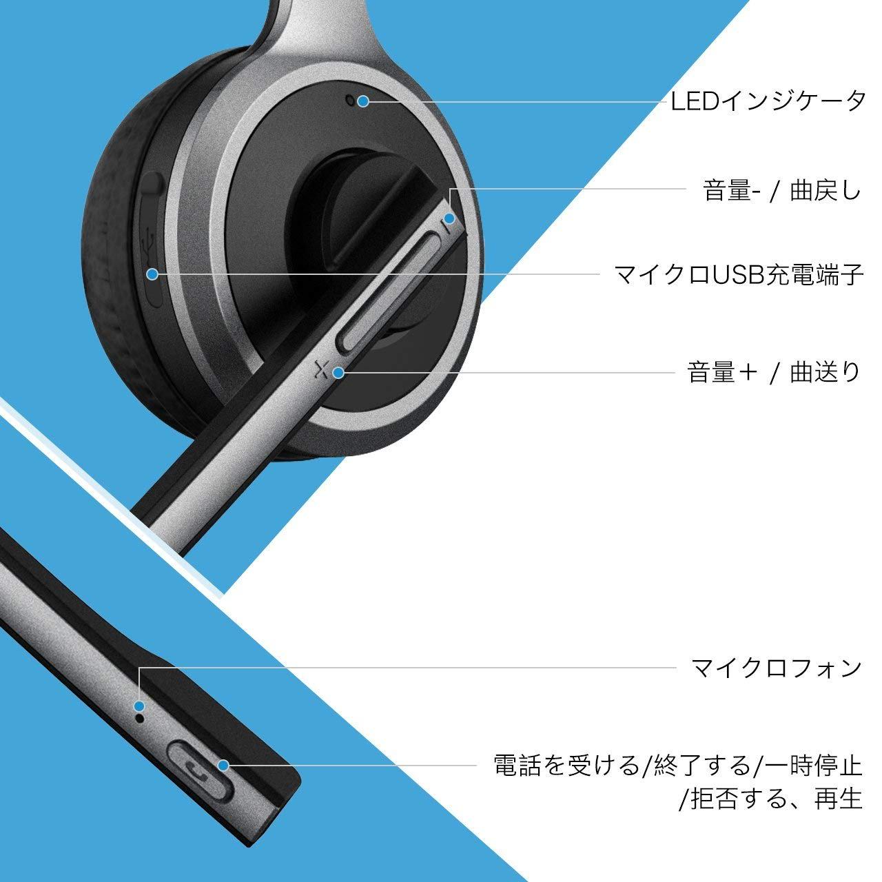 Mpow BluetoothHeadset 01