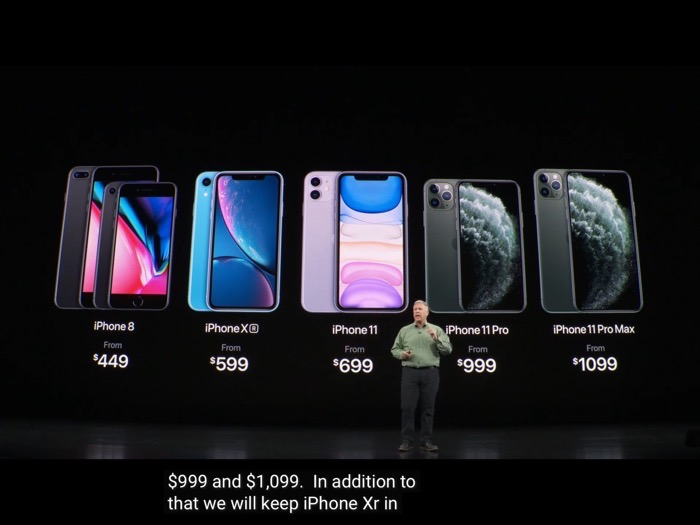 IPhone2019 kakaku price