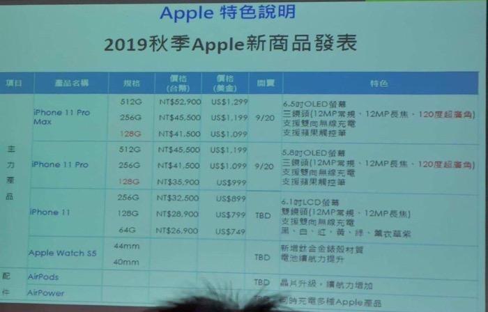 Iphone 11 series priceleak