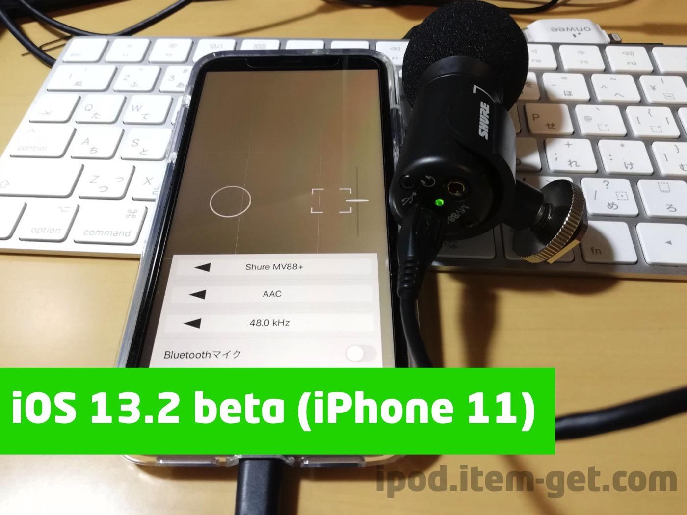 IPhone11 iOS131 MV88error 04