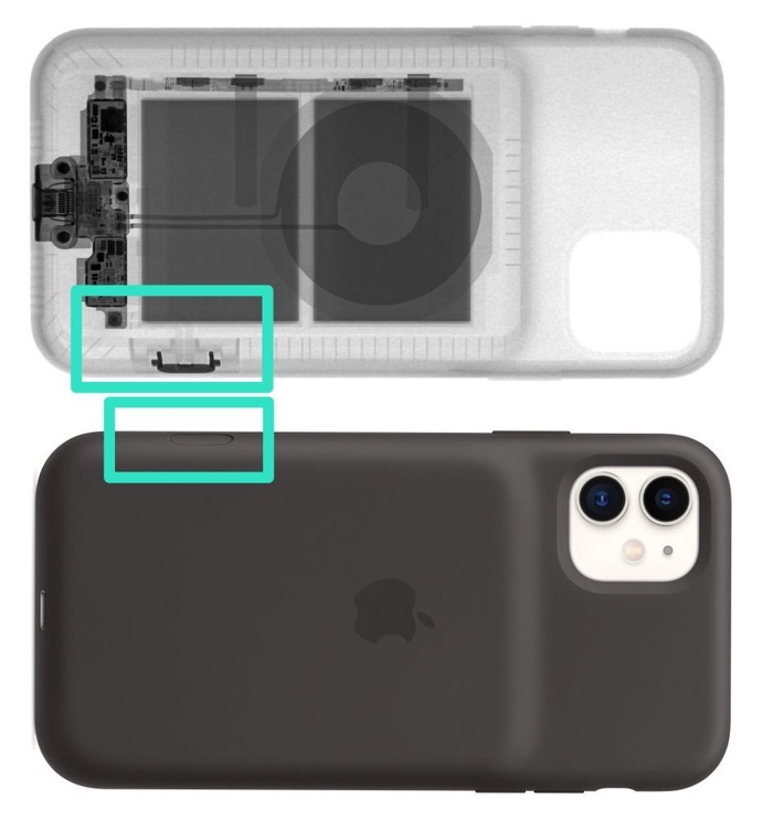 AppleSmartBatteryCase inside iPhone11 02