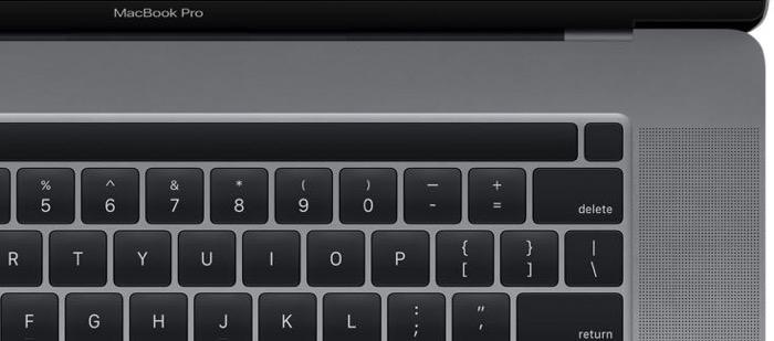 MacBookPro TouchBar TouchID