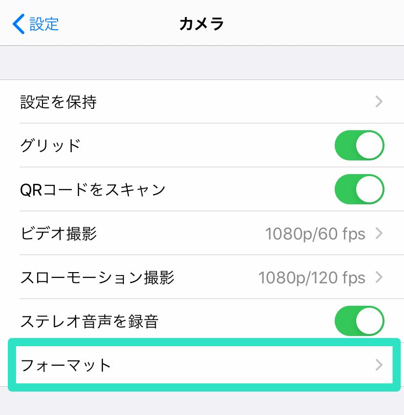 IOS H265 H264 CodecSettings 02