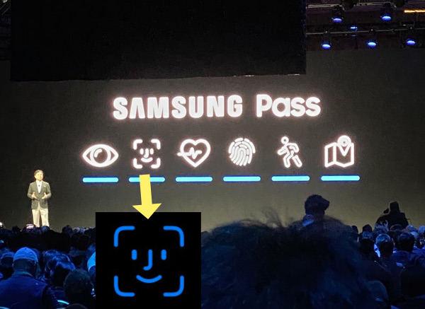 Samsung pass faceIDicon