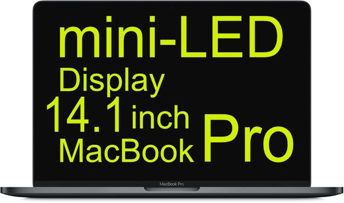 14 1 mini LED MacBookPro