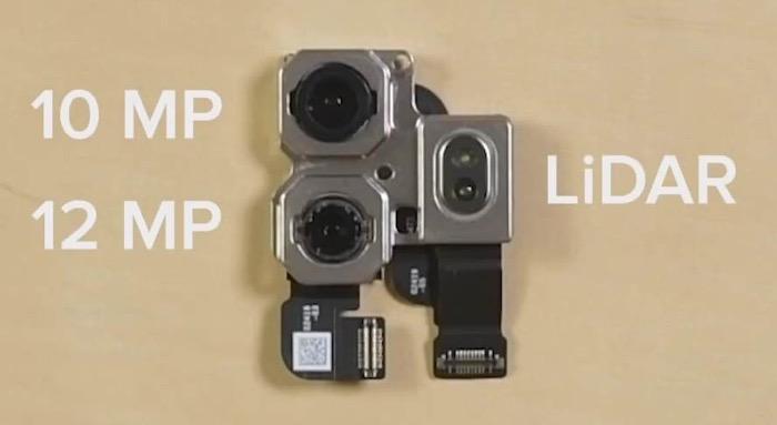 IPadPro2020 LiDAR teardown 03