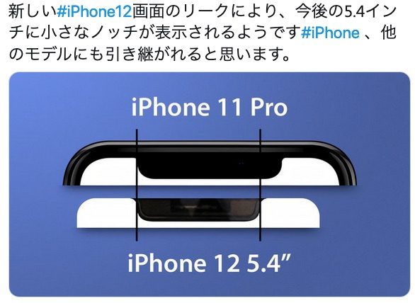 IPhone12 notchsize 01
