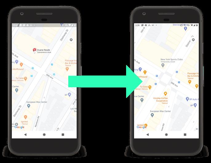 Googlemaps detailed street