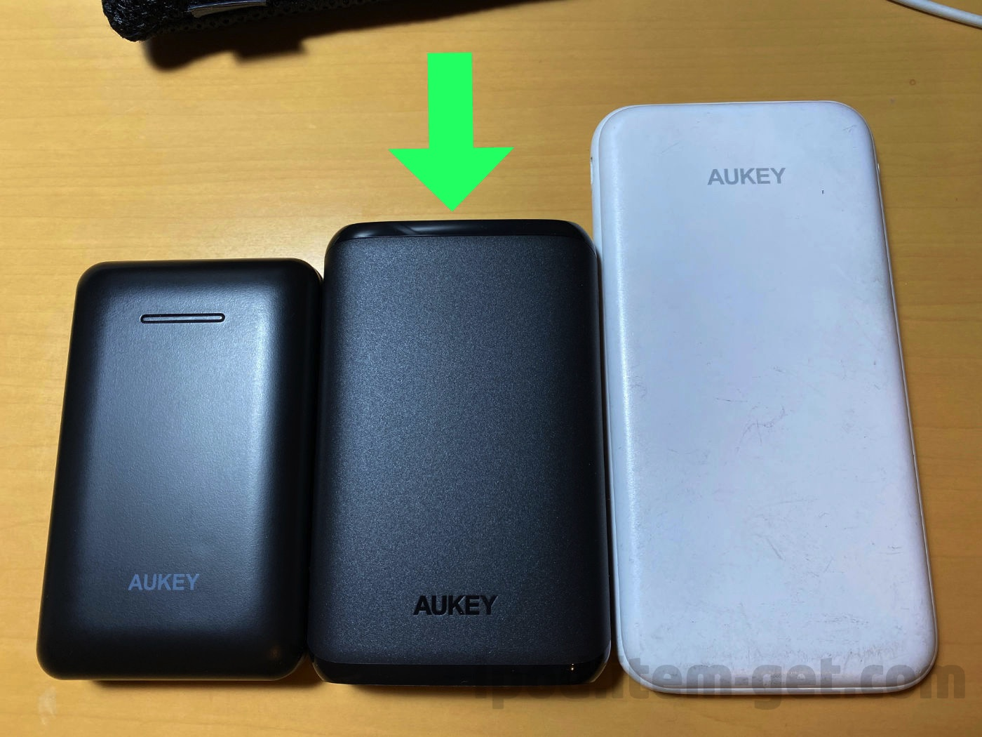 Aukey battery10000mah comparison 01