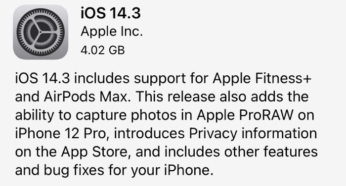 Ios143 rc release