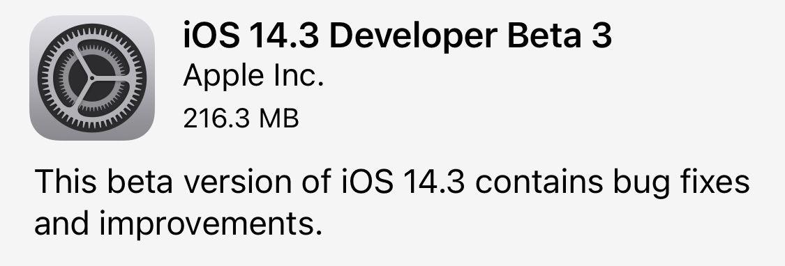 Ios14 3 beta3 02