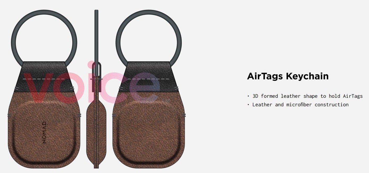 Airtags keychain 02
