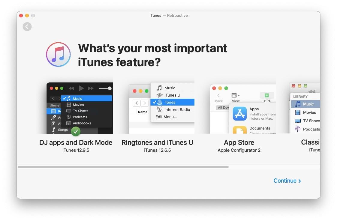 MacOSBigSur iTunesinstall 10