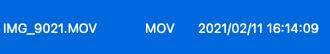 MacOSBigSur imagecapture timestamp 03