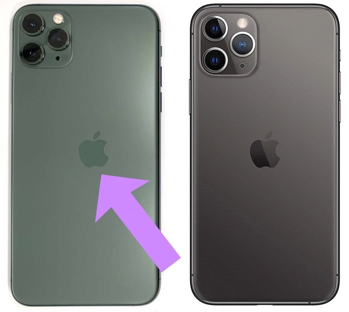 Applelogo missprint iPhone11pro