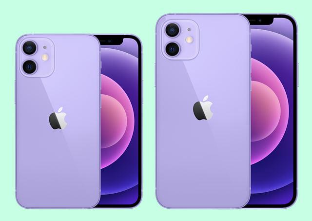 IPhone12 12mini purple 01