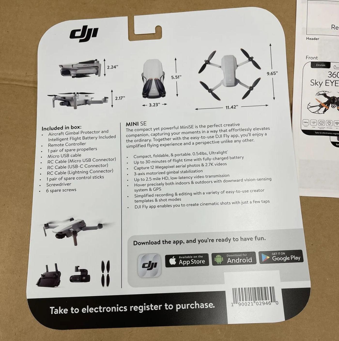 DJI MiniSE Drone 04