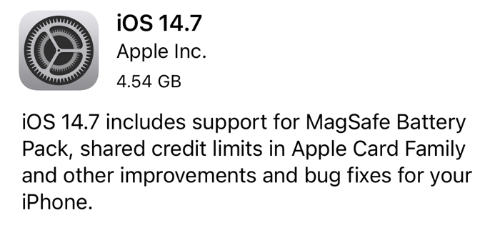 Ios147 candidate