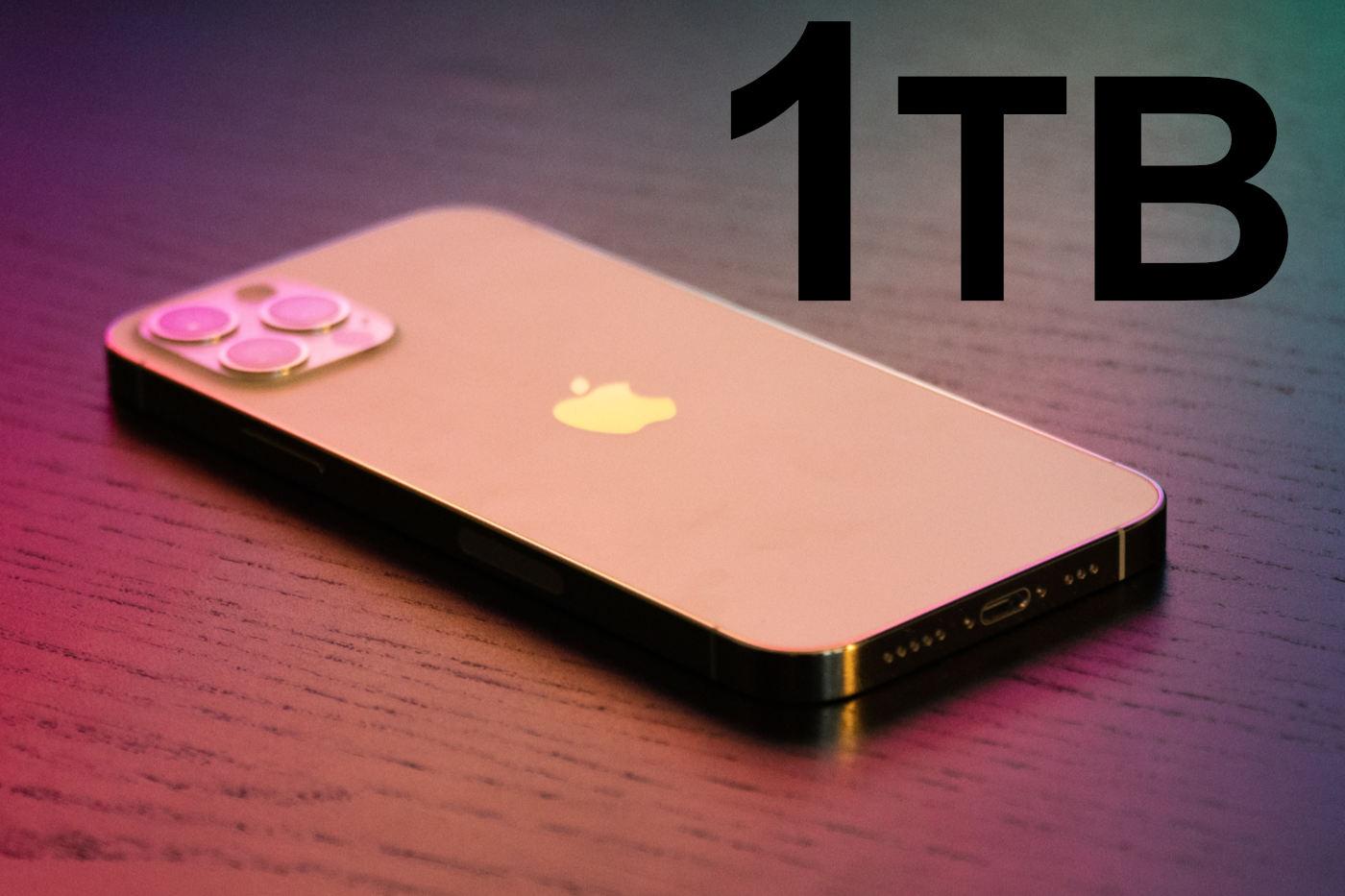 IPhone13pro 1tbstrage